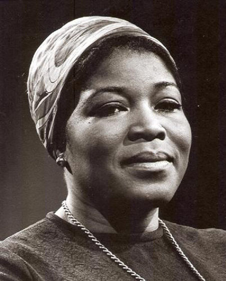 Betty Shabazz herself